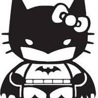 "Batgirl Batman Inspired Comics Superhero Vinyl Decal Sticker|BLACK|Cars Trucks Vans SUV Laptops Wall Art|5.5"" X 4""