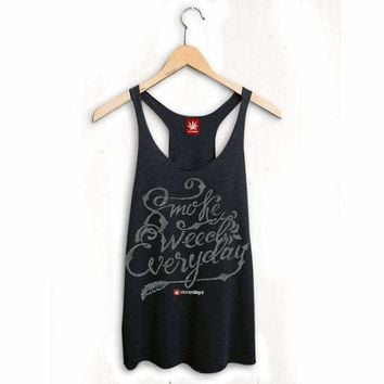 WOMENS SMOKE WEED EVERYDAY TANK