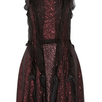 Lanvin - Sequined chiffon dress