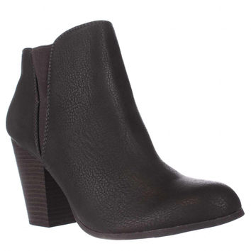 Fergalicious Punch Ankle Booties, Grey, 8.5 US / 38.5 EU