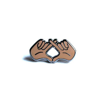"The Weeknd ""XO"" Hands Pin"