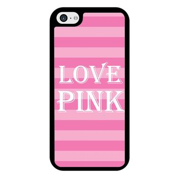 Victoria Secret Love Pink iPhone 5/5S/SE Case