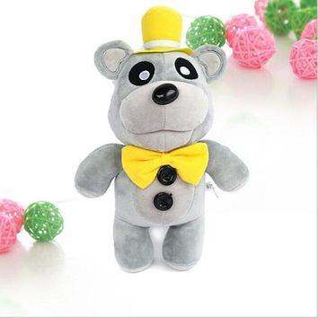 30cm Anime  at Freddy Plush Toy Gold Bear Soft Stand Up Kids Game  Stuffed Animal Fluffy Doll Gift For Children