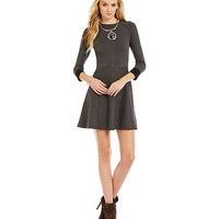 Vince Camuto Flared Sweater Dress | Dillards