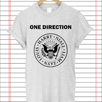 one direction ramones popular item T Shirt Mens S-2XL and T Shirt Womens Size S-2XL by Dicakno