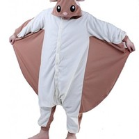 Rnmomo Unisex-Adult Kigurumi Flying Squirrel Pajamas
