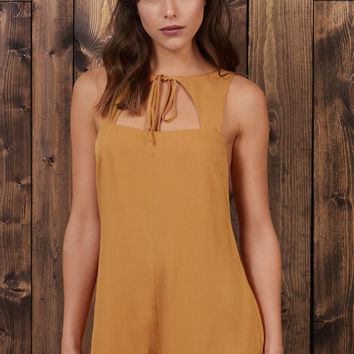 Starry Eyed Bolo Tie Romper