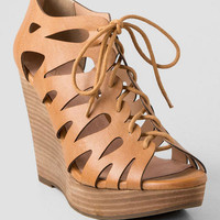 Maxout Lace Up Wedge