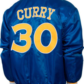 Men's Jh Design Golden State Warriors Nba Stephen Curry Satin Jacket | Finish Line