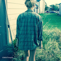 -Mystery Oversized Flannel Shirts