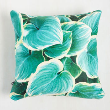 Got the Hosta for You Pillow | Mod Retro Vintage Decor Accessories | ModCloth.com