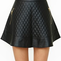 Naomi Quilted Skirt