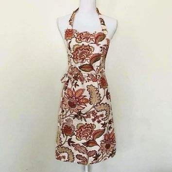 April Cornell Paisley Print Apron