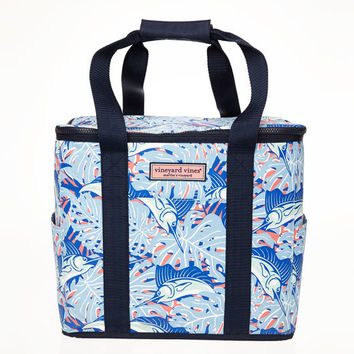 Sailfish N Leaves Cooler Tote
