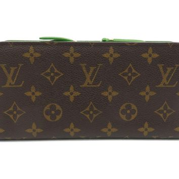 Louis Vuitton LV Portefeuille Insolite Long Wallet Purse M66565 Brown