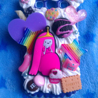 READY TO SHIP, Inspired by Adventure Time, Princess Bubblegum Case for the Samsung Galaxy S3 :3