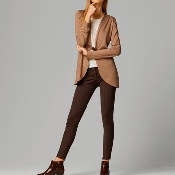 CARDIGAN WITH LEATHER BUCKLE - View all - Sweaters & Cardigans - WOMEN - Italia/Italy