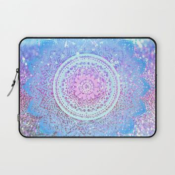 Pastel Mandala Laptop Sleeve by Haroulita