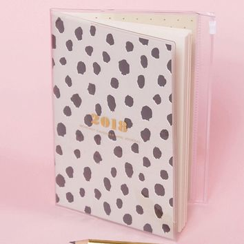 Kate Spade Flamingo Dot Jan-Dec 2018 Monthly Planner at asos.com