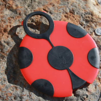 Ladybug Kitchen Trivet Red & Black Plastic Boston Warehouse
