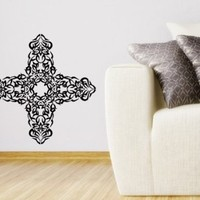 Wall Vinyl Decal Sticker Art Design Tribal Tattoo Cross Room Nice Picture Decor Hall Wall Chu1172