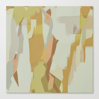 Abstract Painting No. 17 Canvas Print by Metron