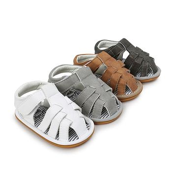 WONBO Brand Baby Sandals Fashion Baby Clogs Non-Slip Summer New Sandals For Babies. Sizes 1 To 3