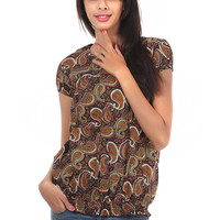 Black Cotton Readymade Top Online Shopping: TYH43