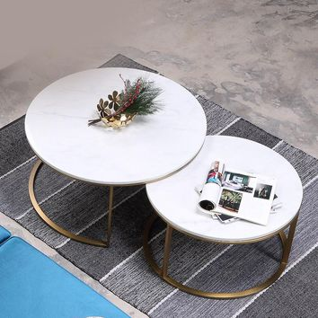 Creative Marble Round Tea Table
