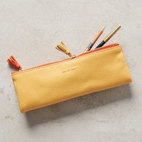 Idiom Pencil Pouch by Anthropologie