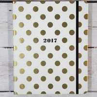 Kate Spade New York 17-Month Large Agenda {Gold Dot}