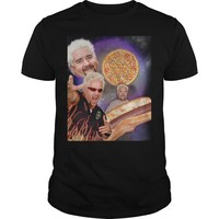 Three Guy Fieri Moon shirt Guys Tee