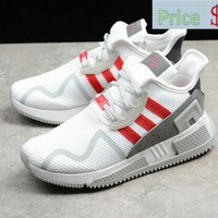 nike shoes men's casual Adidas Originals EQT Cushion ADV EQT White Red shoes