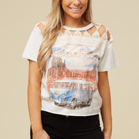 Altar'd State Roadtrip Top - Tops - Apparel