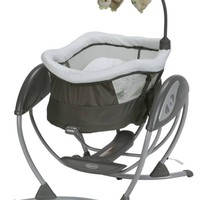 Graco DreamGlider Gliding Swing and Sleeper Baby Swing, Percy - Walmart.com