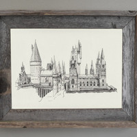 Harry Potter, Harry Potter Wall Art: Hogwarts Print