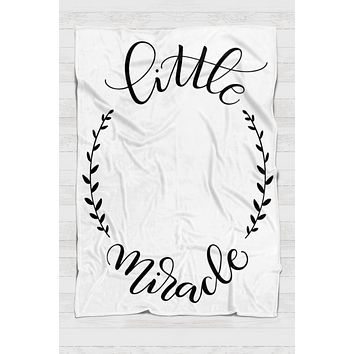 Fleece Blanket - Little miracle