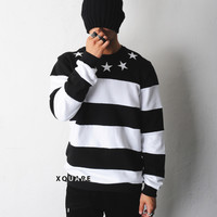 Star Striped GVC SweatShirt