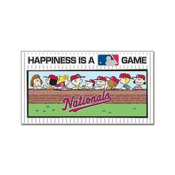 WASHINGTON NATIONALS PEANUTS GANG HAPPINESS IS A GAME COLLECTOR PIN NEW WINCRAFT