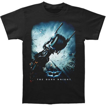 Batman Men's  Bat Pod Poster T-shirt Black Rockabilia