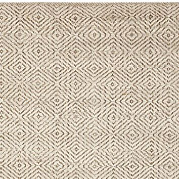 DUNCAN DIAMOND NATURAL FIBER RUG - IVORY