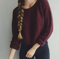 Women Sweaters And Pullovers Autumn Winter Long Sleeve O Neck Casual Solid Knitted Christmas Sweater Pull Femme Korea Plus Size