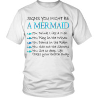 Sings You Might Be a Mermaid