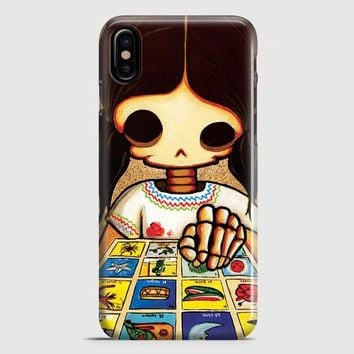 Day Of The Dead Skeleton Girl iPhone X Case | casescraft