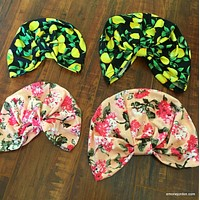 Mommy and Me Turban Set