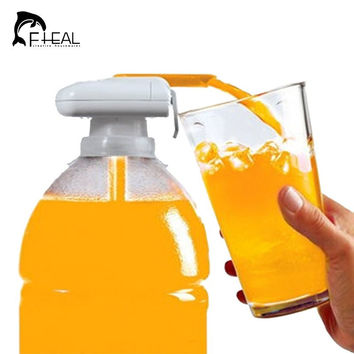 Novelty Electric Automatic Juice Cocktail Water Dispenser Drinking Straw Fruit Vegetable Automatic Beverage Suck