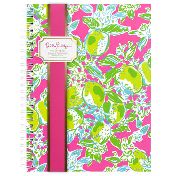 Mini Notebook {Pink Lemonade} - Lilly Pulitzer