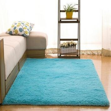 Autumn Fall welcome door mat doormat  Shipping Long Plush Slip-Resistant Soft Mat For Room Shaggy Thicken Carpet Kids Carpets  Rug  60*120 CM AT_76_7