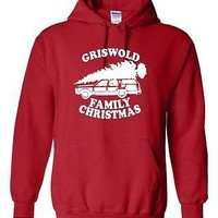 Griswold Family Christmas Vacation National Lampoon Movie Adult Hoodie
