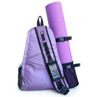 Aurorae Yoga Multi Purpose Crossbody Sling Back Pack